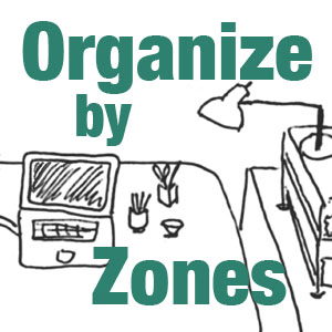 Organizing by Zones